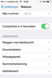 Anoniem bellen Iphone